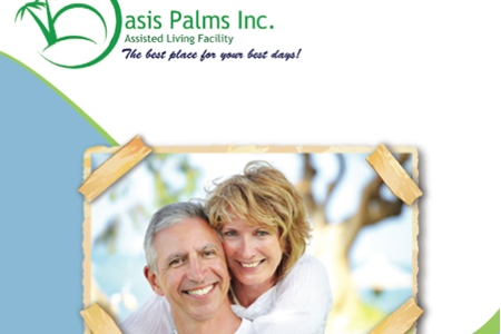 8 page booklet assisted living facility
